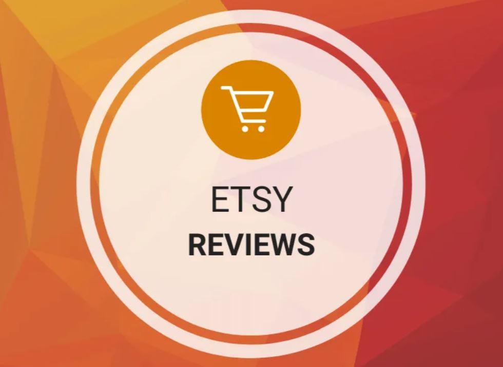 Etsy - Reviews