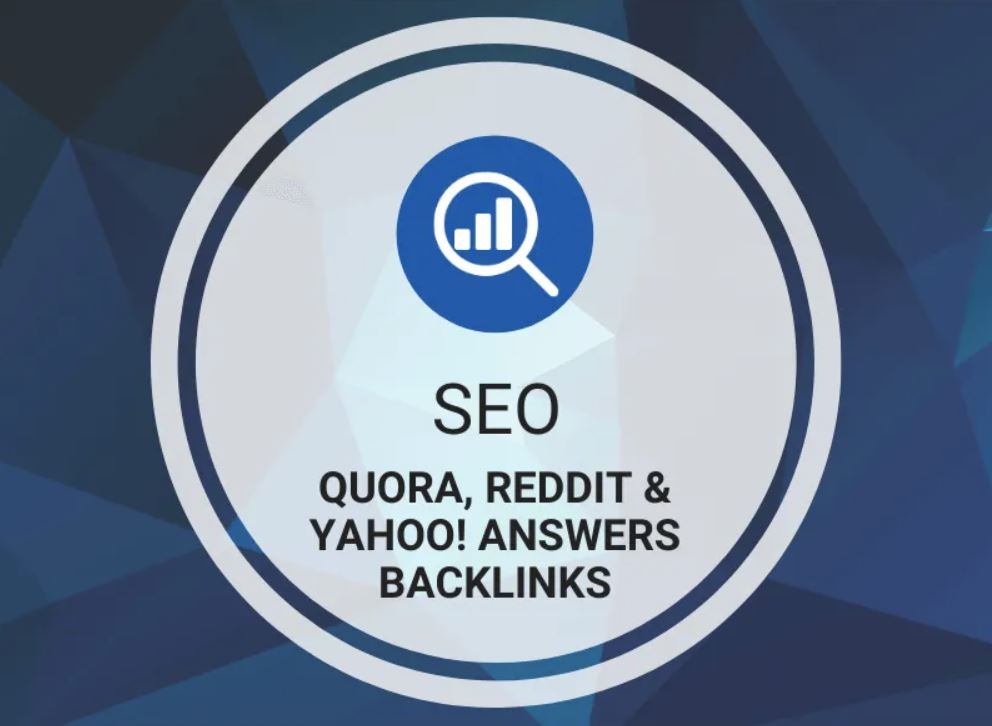 Quora, Reddit & Yahoo! Answers Backlinks