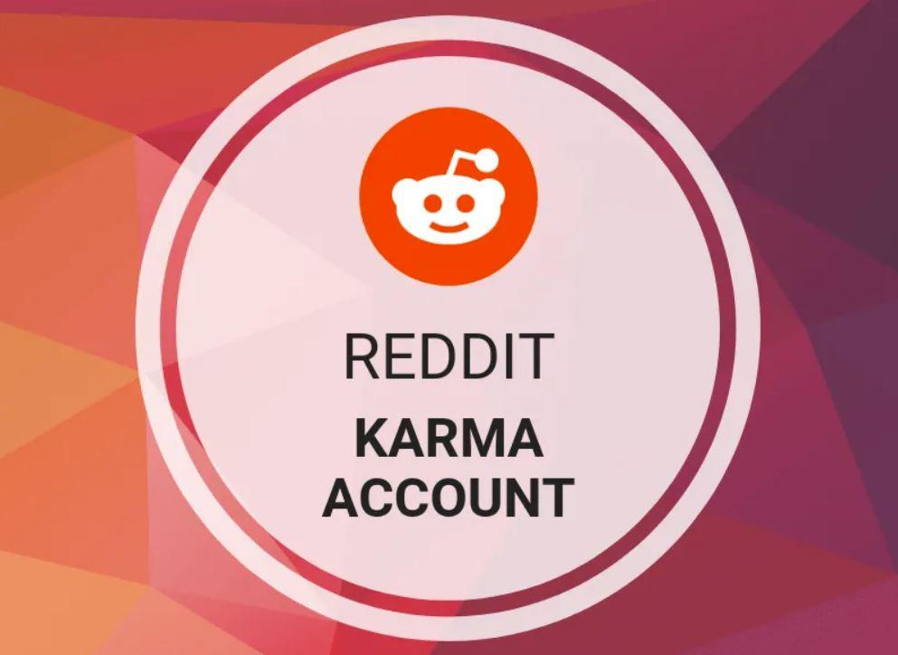 Reddit - Karma Account