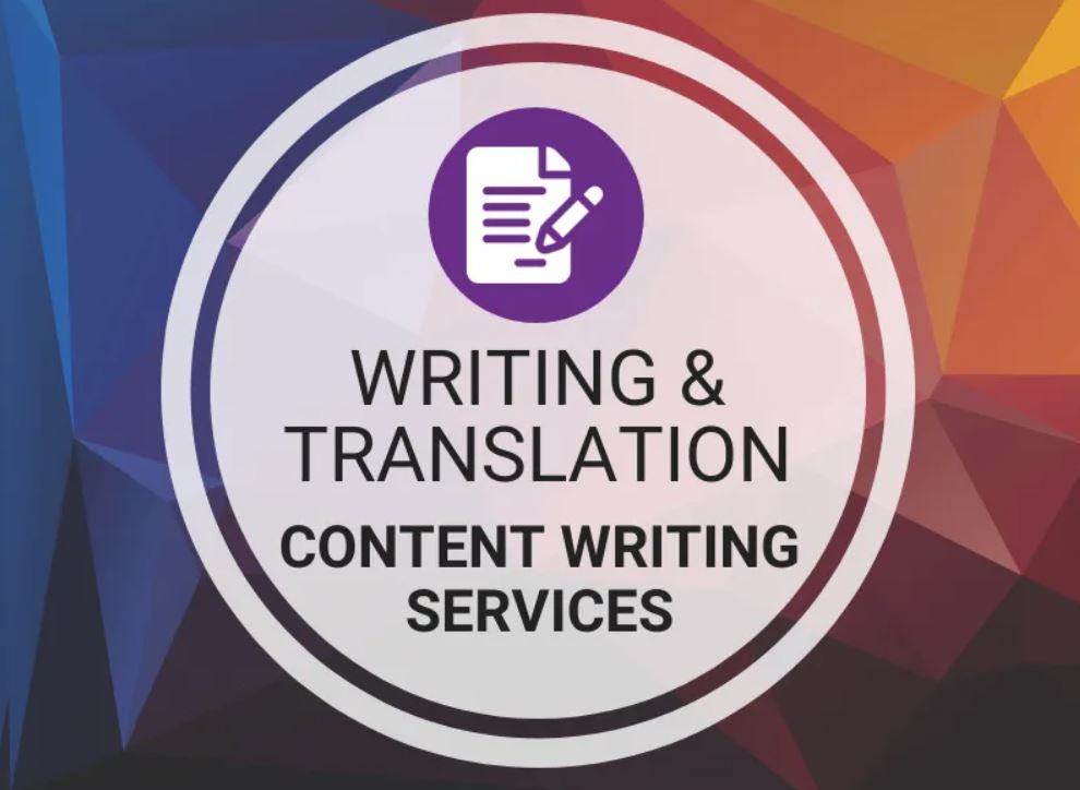 Writing & Translation - Content Writing Services