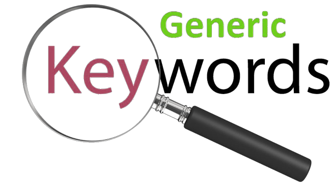 What is a Generic Keyword in SEO