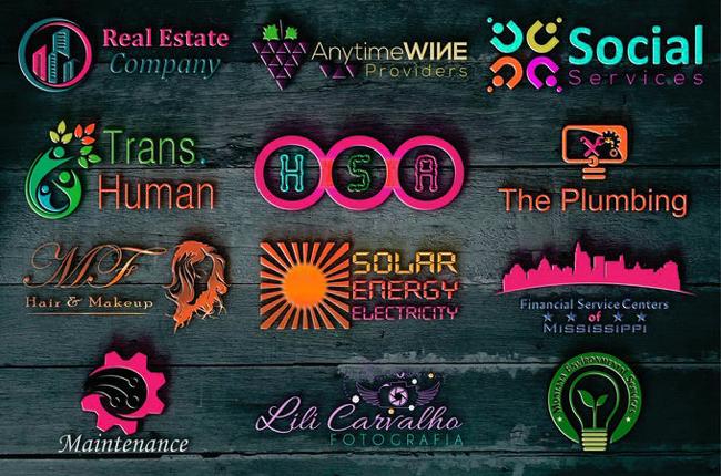 logos that offered on Fiver platform.