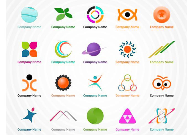 some logo bundle as used by many designers.